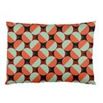 Modernist Geometric Tiles Pillow Case (Two Sides) Back