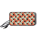 Modernist Geometric Tiles Portable Speaker (Black)