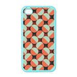 Modernist Geometric Tiles Apple iPhone 4 Case (Color) Front
