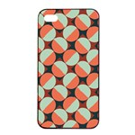 Modernist Geometric Tiles Apple iPhone 4/4s Seamless Case (Black)