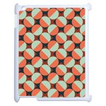 Modernist Geometric Tiles Apple iPad 2 Case (White)