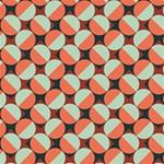 Modernist Geometric Tiles MOM 3D Greeting Card (8x4) Inside