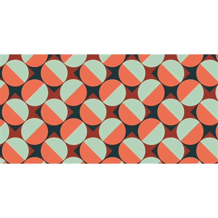 Modernist Geometric Tiles YOU ARE INVITED 3D Greeting Card (8x4)