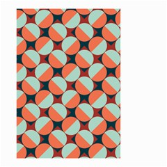 Modernist Geometric Tiles Small Garden Flag (two Sides) by DanaeStudio
