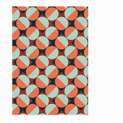Modernist Geometric Tiles Large Garden Flag (two Sides) by DanaeStudio