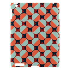 Modernist Geometric Tiles Apple Ipad 3/4 Hardshell Case by DanaeStudio