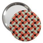 Modernist Geometric Tiles 3  Handbag Mirrors