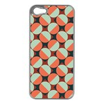 Modernist Geometric Tiles Apple iPhone 5 Case (Silver)