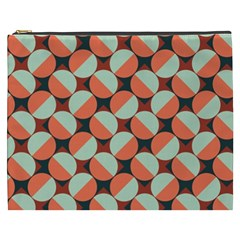 Modernist Geometric Tiles Cosmetic Bag (xxxl)