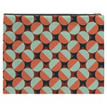 Modernist Geometric Tiles Cosmetic Bag (XXXL)  Back
