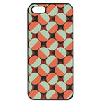 Modernist Geometric Tiles Apple iPhone 5 Seamless Case (Black)