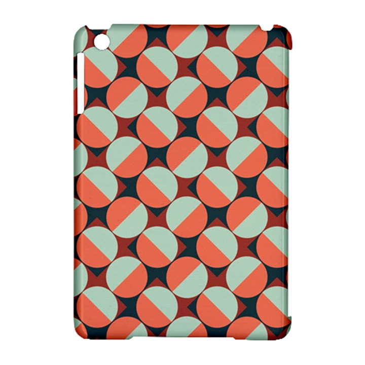 Modernist Geometric Tiles Apple iPad Mini Hardshell Case (Compatible with Smart Cover)