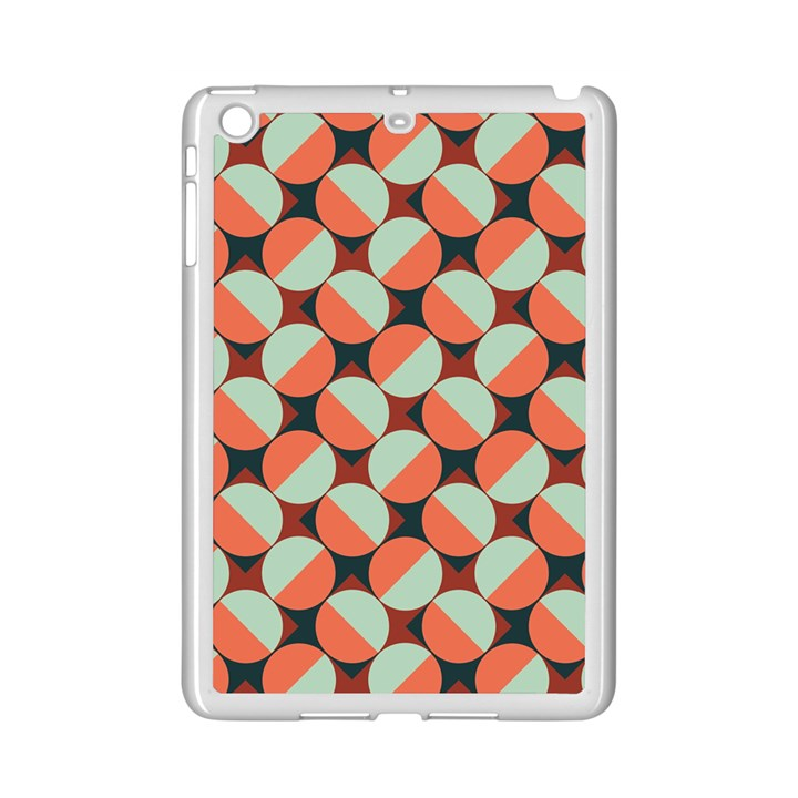 Modernist Geometric Tiles iPad Mini 2 Enamel Coated Cases