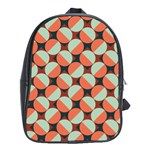 Modernist Geometric Tiles School Bags (XL)  Front