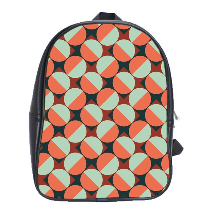 Modernist Geometric Tiles School Bags (XL)