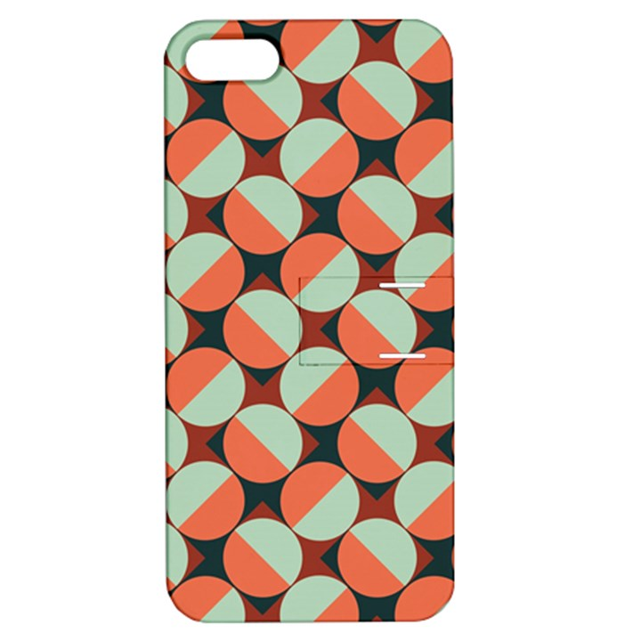 Modernist Geometric Tiles Apple iPhone 5 Hardshell Case with Stand