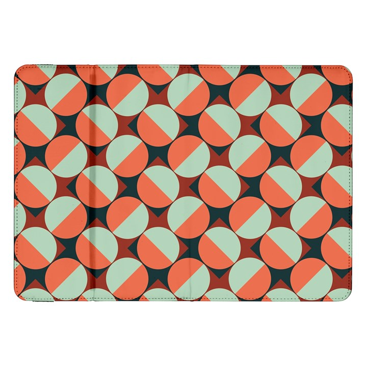 Modernist Geometric Tiles Samsung Galaxy Tab 8.9  P7300 Flip Case