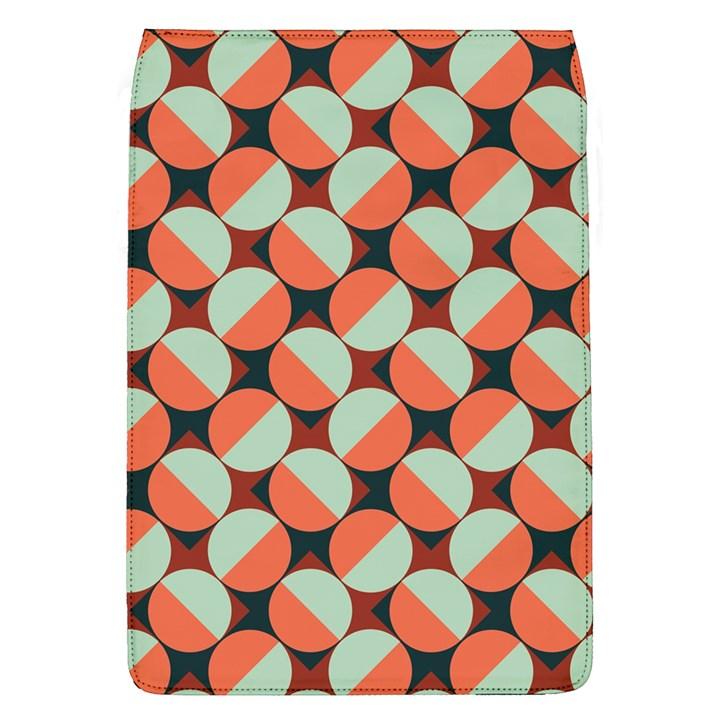 Modernist Geometric Tiles Flap Covers (L)