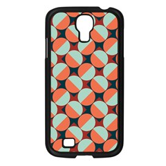 Modernist Geometric Tiles Samsung Galaxy S4 I9500/ I9505 Case (black) by DanaeStudio