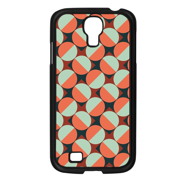 Modernist Geometric Tiles Samsung Galaxy S4 I9500/ I9505 Case (Black)