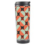 Modernist Geometric Tiles Travel Tumbler