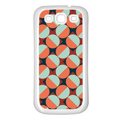 Modernist Geometric Tiles Samsung Galaxy S3 Back Case (white) by DanaeStudio