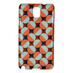 Modernist Geometric Tiles Samsung Galaxy Note 3 N9005 Hardshell Case by DanaeStudio