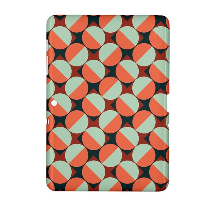 Modernist Geometric Tiles Samsung Galaxy Tab 2 (10.1 ) P5100 Hardshell Case
