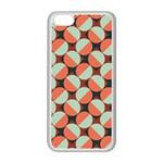 Modernist Geometric Tiles Apple iPhone 5C Seamless Case (White) Front