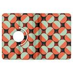 Modernist Geometric Tiles Kindle Fire HDX Flip 360 Case Front
