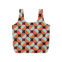 Modernist Geometric Tiles Full Print Recycle Bags (s)  by DanaeStudio