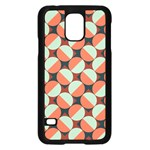 Modernist Geometric Tiles Samsung Galaxy S5 Case (Black)