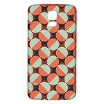 Modernist Geometric Tiles Samsung Galaxy S5 Back Case (White) Front