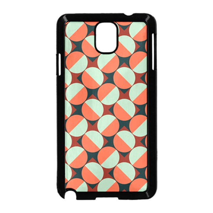 Modernist Geometric Tiles Samsung Galaxy Note 3 Neo Hardshell Case (Black)