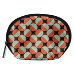 Modernist Geometric Tiles Accessory Pouches (Medium)  Front