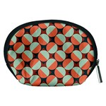 Modernist Geometric Tiles Accessory Pouches (Medium)  Back