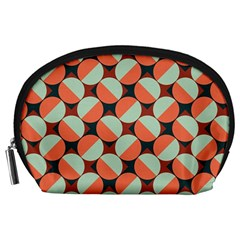Modernist Geometric Tiles Accessory Pouches (large)  by DanaeStudio