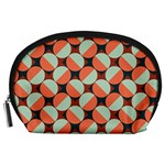 Modernist Geometric Tiles Accessory Pouches (Large)  Front