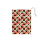 Modernist Geometric Tiles Drawstring Pouches (Small)