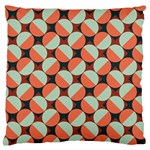 Modernist Geometric Tiles Standard Flano Cushion Case (Two Sides)