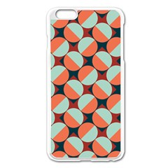 Modernist Geometric Tiles Apple Iphone 6 Plus/6s Plus Enamel White Case