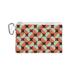 Modernist Geometric Tiles Canvas Cosmetic Bag (S)