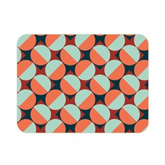 Modernist Geometric Tiles Double Sided Flano Blanket (mini)  by DanaeStudio