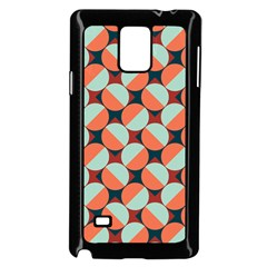 Modernist Geometric Tiles Samsung Galaxy Note 4 Case (black)