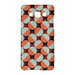 Modernist Geometric Tiles Samsung Galaxy A5 Hardshell Case  by DanaeStudio