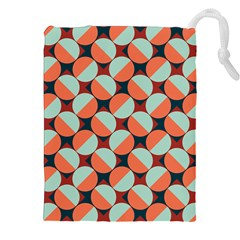 Modernist Geometric Tiles Drawstring Pouches (xxl) by DanaeStudio
