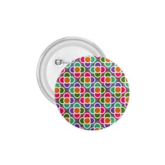 Modernist Floral Tiles 1 75  Buttons by DanaeStudio