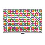 Modernist Floral Tiles Business Card Holders