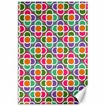 Modernist Floral Tiles Canvas 20  x 30   30 x20 Canvas - 1