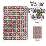 Modernist Floral Tiles Multi-purpose Cards (Rectangle)  Frontback